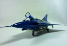 "Saab J35J Draken ""Swedish Special"""