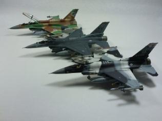 F-16CJ, F-16C, & F-16I