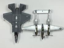 P-38L Lightning & F-35A Lightning II