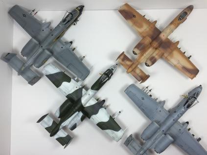 A-10A's & A-10C Thunderbolt II